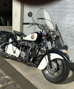 1952 Indian Chief Blackhawk For Sale