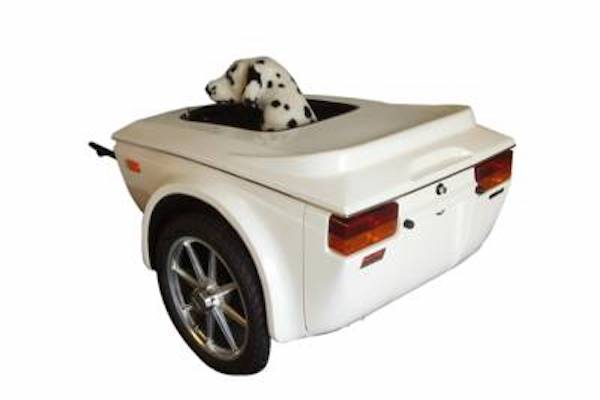 Buy Pull Behind Pet Cargo Luggage Motorcycle Trailer