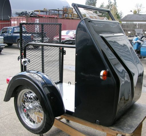 Wheelchair Accessible Sidecar for Sale