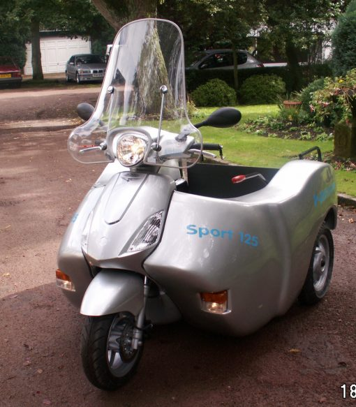 Wheelchair Accessible Disability Motorcycle Trike
